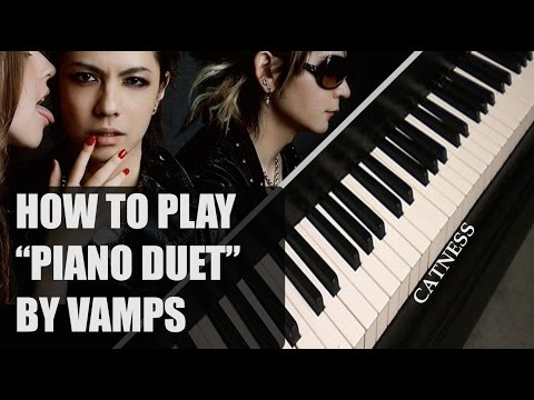 Vamps - Piano Duet (Piano tutorial/Synthesia)