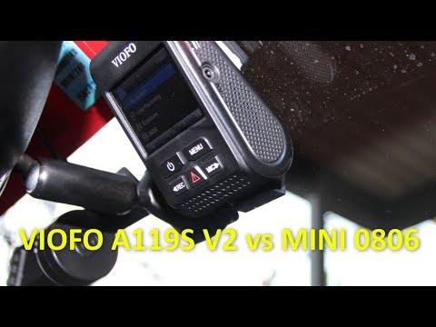 Viofo A119S V2 Vs Mini 0806 Dash Cam Comparison