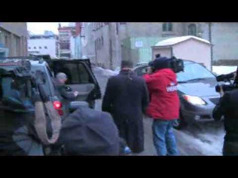 Ciavarella arrives at court