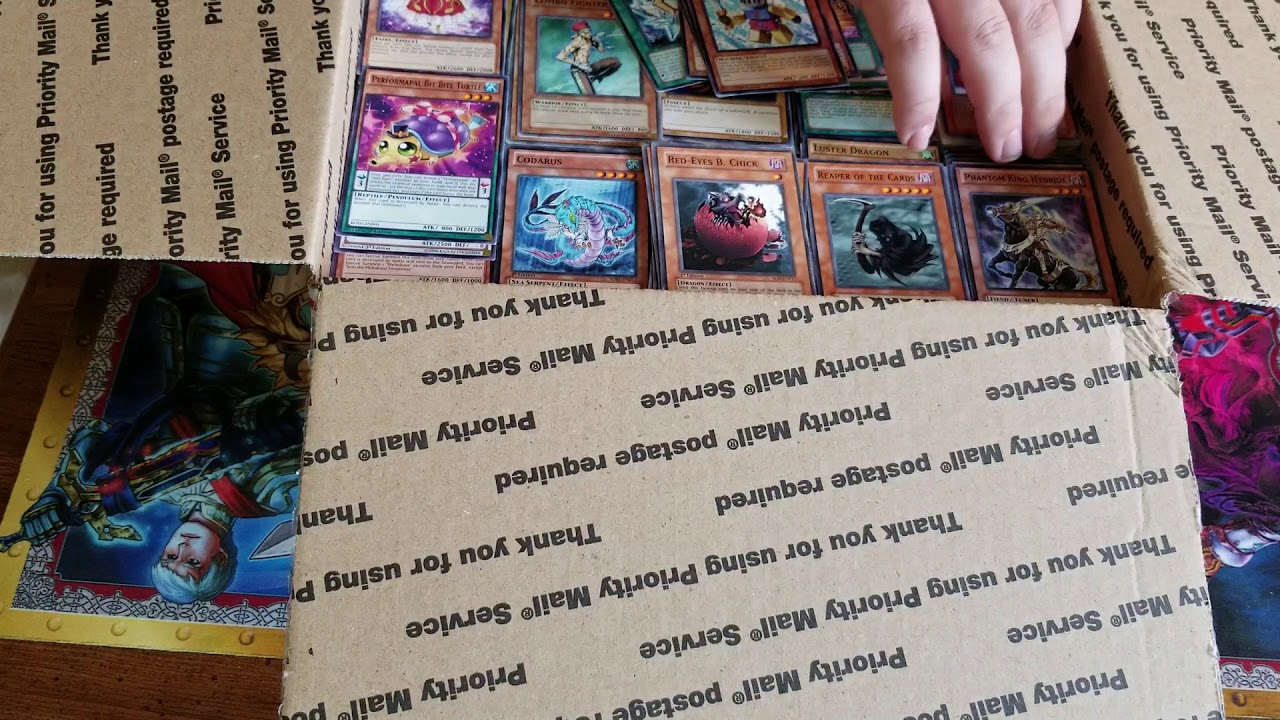 Unboxing 5000 Yugioh Cards From Ebay Fail Youtube