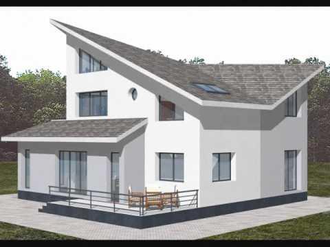 Proiect casa roberta proiecte case cu mansarda for Youtube case cu mansarda