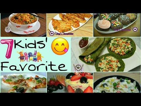 7 Kids Favorite Recipes | Bachha Party Special | Lunch Box Ideas - By Food Connection