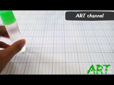 How to make SLIME | hướng dẫn làm chất nhờn ma quái dẻo đơn giản by ART( art channel)