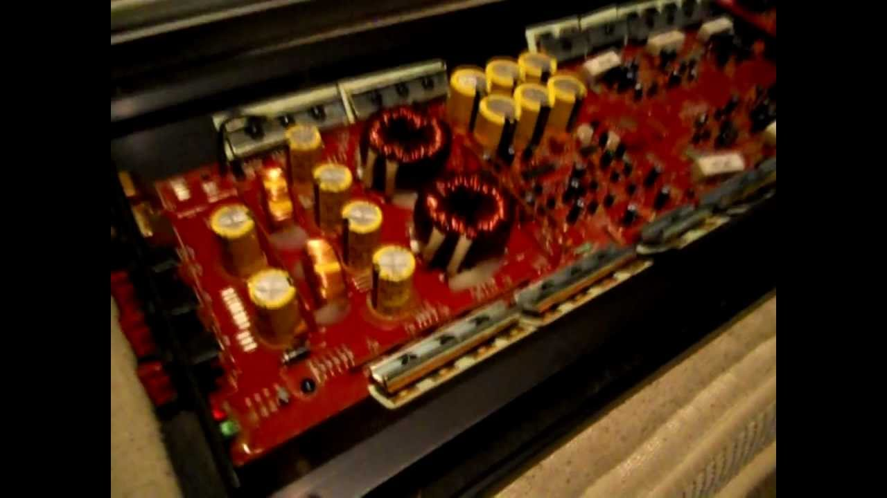 Inside Of A Kicker Amp, The Guts! by SullivanDesigns