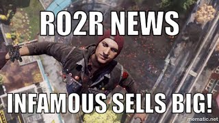 Infamous Second Son moves PS4s! (Sony Playstation 4)