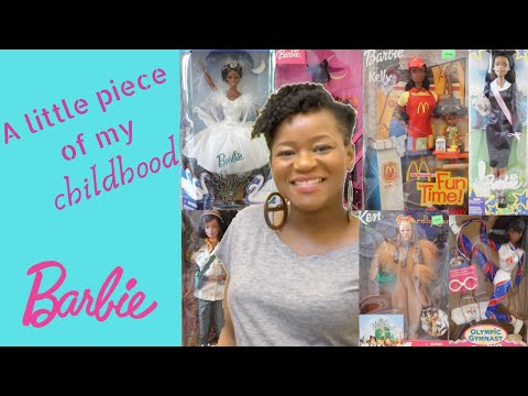 My Childhood Barbie Collection   Declutter and reorganize   Organizer bins - Hangin' With Mrs. Marks