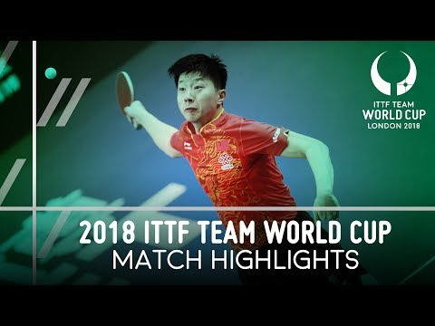 2018 Team World Cup Highlights I Ma Long vs Ruwen Filus (1/4)