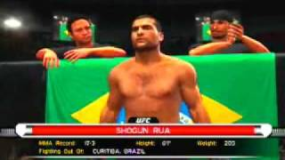 UFC Undisputed 2009 PS3 Gameplay - First Round KO