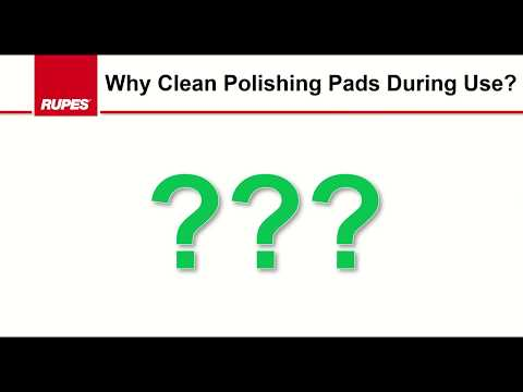 HOW TO: Clean RUPES Polishing Pads