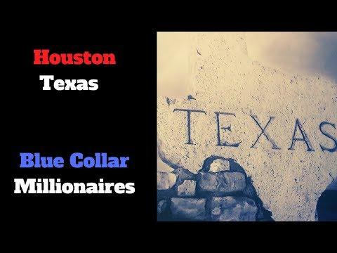 Hurricane Harvey will create Houston Texas Millionaires. Blue Collar Millionaires