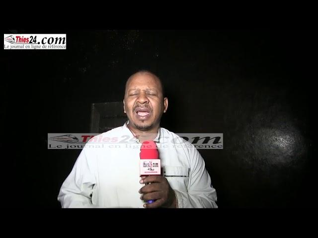 Vidéo- Un violent incendie ravage la maison d'un souteneur de Macky Sall à Thiès