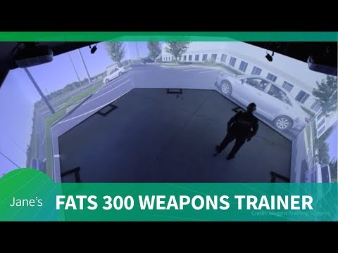 Meggitt markets their FATS 300 for weapons training (AUSA 2018)