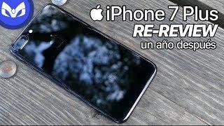 RE-REVIEW iPhone 7 Plus BLACK UN AÑO DESPUES VALE LA PENA ?