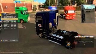 Euro Truck Simulator 2 Multiplayer 24/04/2016 (( Prestem atenção no chat do jogo ))