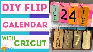 Cricut DIY Flip Calendar | Melody Lane