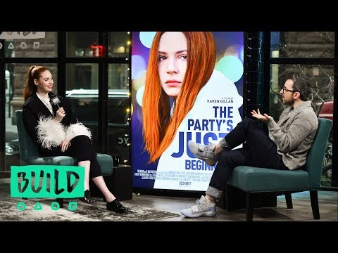 "Karen Gillan Discusses Her Film, ""The Party's Just Beginning"""