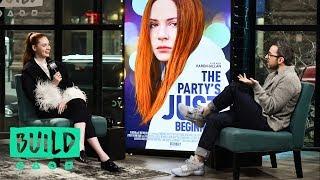 """Karen Gillan Discusses Her Film, """"The Party's Just Beginning"""""""