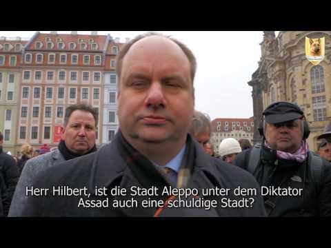 7.2.2017, Dresden, Die Provokation