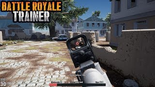 Battle Royale Trainer Gameplay (PUBG TRAINER)