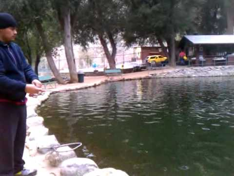 mt baldy trout pools fishing 1 14 2012 youtube