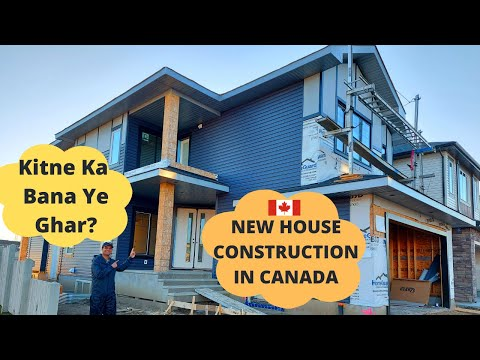 Canadian Houses|Building A $700,000 House| Should New Immigrants BUY Or BUILD A HOUSE|Life In Canada