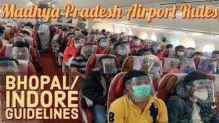 Madhya Pradesh New Quarantine Rules | Flights In India During Unlock 2.0 | Airport Guidelines screenshot 4