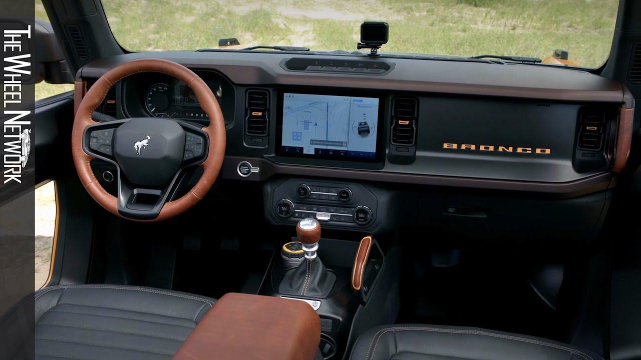 2021 Ford Bronco Interior Youtube