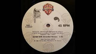 Sister Fate (Extended Version) - Sheila E.