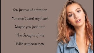 Charlie Puth - ATTENTION (Emma Heesters Cover) (Lyrics)