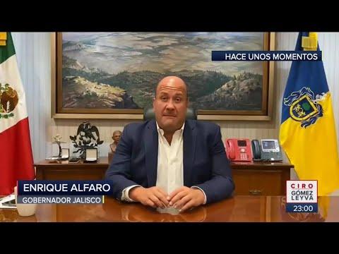 Gobernador acusa al presidente de protestas violentas en Guadalajara | Noticias con Ciro Gómez Leyva