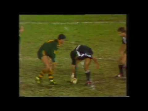 Australia vs New Zealand only test 1987 - Rugby League