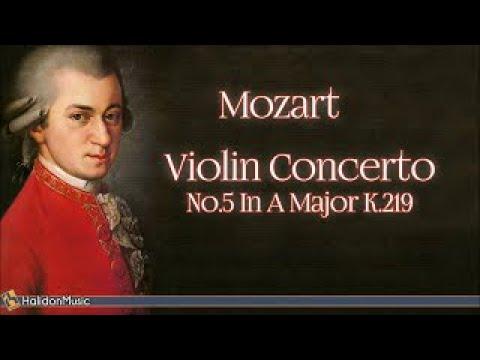 Mozart: Violin Concerto No. 5 in A Major, K. 219 | Classical Music