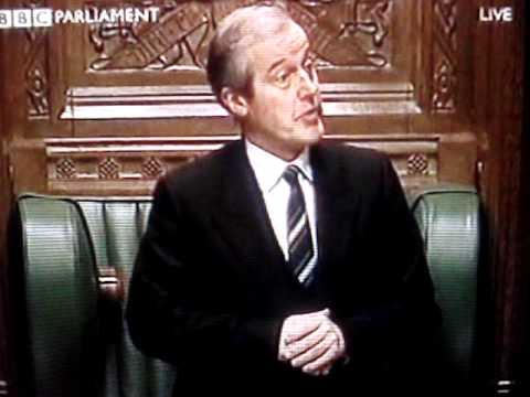 Sir Alan Haselhurst and John Major House of Commons