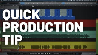Quick Production Tip #StudioOneMinute