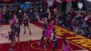 Recap: Kristen Simon's late 3-pointer lifts USC women's basketball past Utah