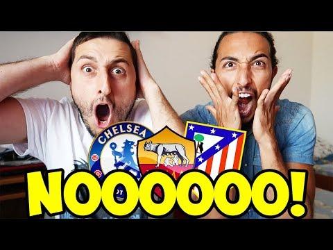 [MA CHE CAZ*O!!!] ROMA-CHELSEA-ATLETICO MADRID?!?! [SORTEGGI CHAMPIONS LEAGUE]