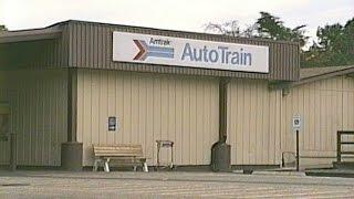 Auto Train Arrival at Lorton, VA 10-19-1988
