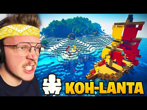 KOH LANTA sur Minecraft !