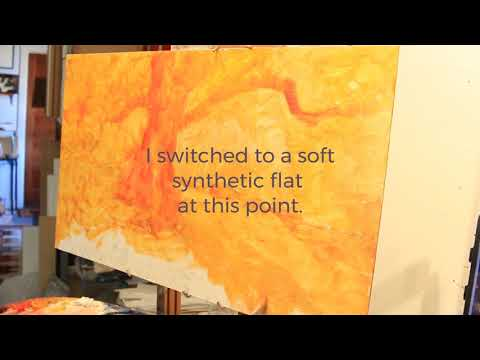 Creating A Landscape Painting In The Studio Part 3: The Underpainting