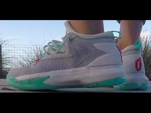 53b209f68ea Unboxing and On feet Adidas D Lillard 2.0 PK