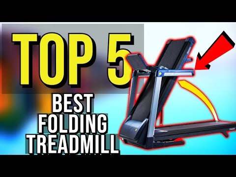 ✅ TOP 5: Best Folding Treadmill 2020