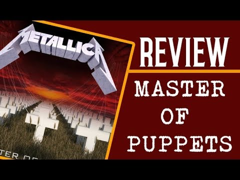Metallica - Master of Puppets // Mi Reseña en Recordando Clasicos