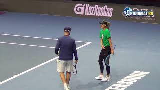 Maria Sharapova, St. Petersburg Ladies Trophy 2019 Open Practice