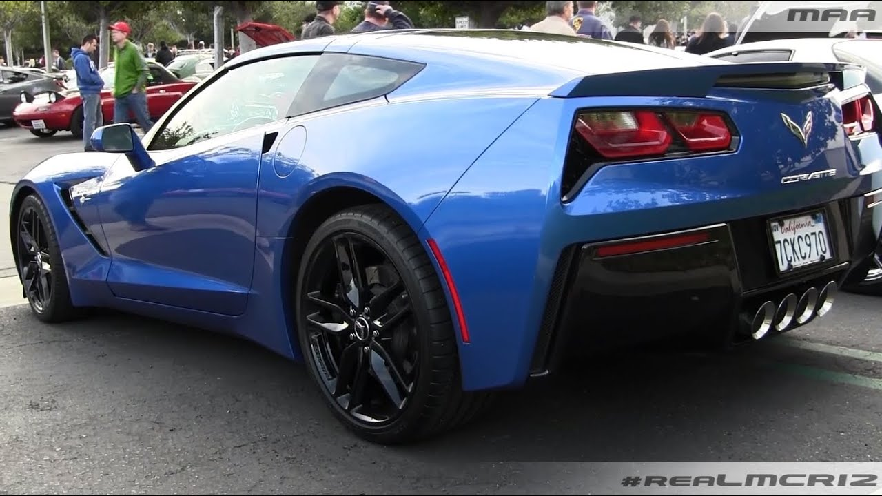 All Chevy chevy c7 : BLUE 2014 Chevy Corvette C7 Stingray - YouTube