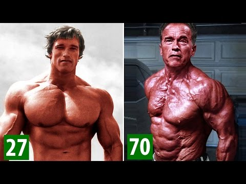 Arnold Schwarzenegger  Transformati From 1 To 70 Years Old