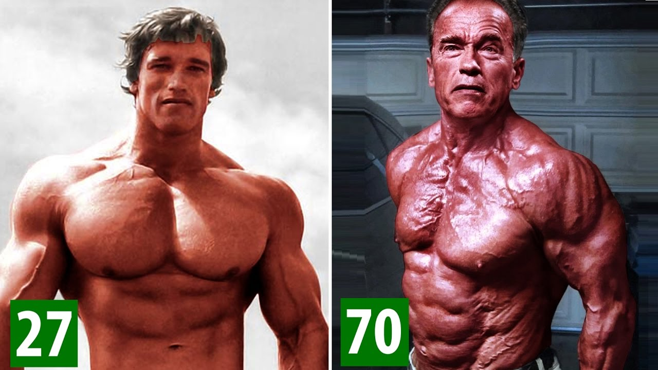 Arnold Schwarzenegger Transformation From 1 To 70 Years Old