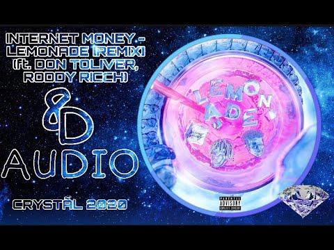 internet money lemonade remix ft roddy ricch don toliver audio headphones youtube