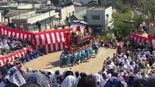 【御座船-本古川町】諏訪神社 後日 もってこーい後【長崎くんち2018-10/9後日】Japanese festival(Nagasaki-Kunchi2018 in Nagasaki) thumbnail
