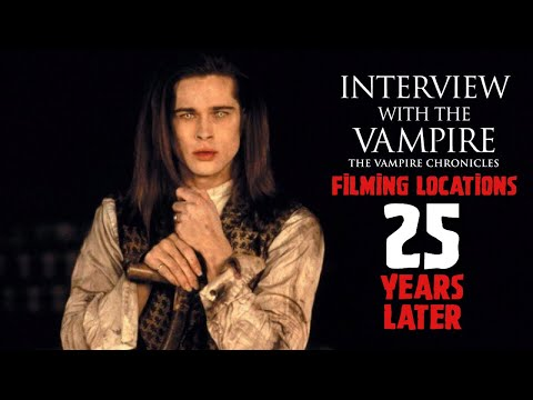 Interview With The Vampire Filming Locations & Anne Rice's House