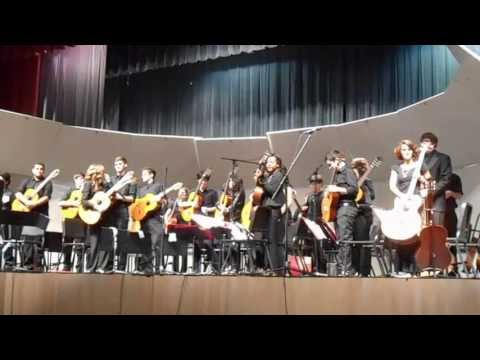 Freedom High School (Orlando) Guitar Orchestra Kalimba (05/16/13)